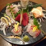 魚菜おもてなし 北河 - 刺盛り  2人盛り
