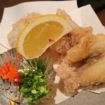 魚菜おもてなし 北河 - ふぐ唐揚げ