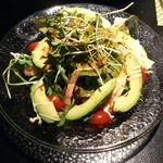 furawa-shinsunisenjuuyon - アボカドと海老のサラダ(700円)