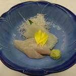 日本料理 花遊膳 - 夏烏賊とカンパチ