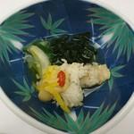 日本料理 花遊膳 - 湯引き鱧の柚子味噌和え