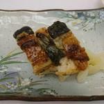 日本料理 花遊膳 - うなぎ押し寿司