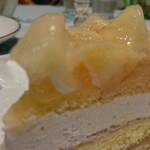 87072549 - 桃とチーズのタルト