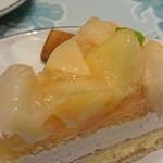 87072550 - 桃とチーズのタルト