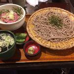 おらが蕎麦 - ネギトロ丼定食780円(税込)