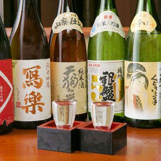 日本一の酒処『新潟』と『佐渡』の美味しい地酒を取り揃え♪
