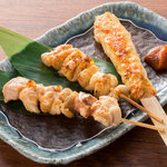 居酒屋 NIJYU-MARU - 串焼き3種盛り合わせ