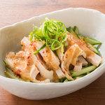 居酒屋 NIJYU-MARU - 撰乃大地鶏のしっとり蒸し鶏胡麻ダレ