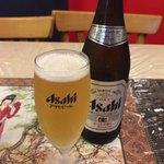 87075768 - アサヒスーパードライ中瓶 たしか520円。