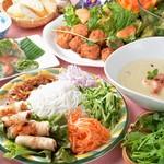 ベトナム料理 アンナンブルー 栄店
