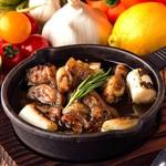 フォレストガーデン新宿 - 鶏ハラミの炭ージョ