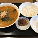 87079622 - 四川担々麺セット