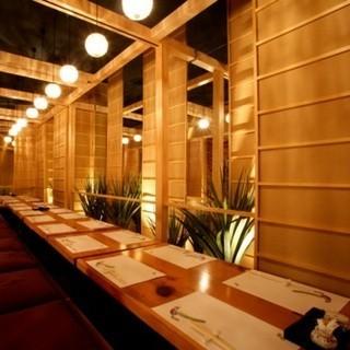 【上質な個室】接待やデートにもお使い頂ける雰囲気の良い和空間