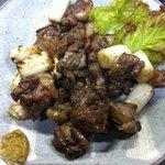 ぢどり亭 - 料理写真:もも炭火焼ネギ入り、噛めば噛むほど滋味あふれる名物炭火焼。