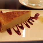 ピッツェリア ロマーナ ジャニコロ - ゴルゴンゾーラのベイクドチーズケーキ
