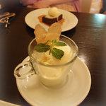 ピッツェリア ロマーナ ジャニコロ - 本日のアイスクリーム(何だったけ? 忘却御免)