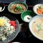 ひめ路 - 高菜めし定食