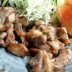 ひめ路 - 地鶏の塩焼き
