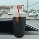 ペンギン - アイスコーヒー、250円です。