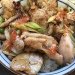 87083410 - ガリバタチキン丼の鶏