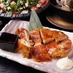 たかの家 - 5・6月のコース:鶏モモ肉のピリ辛照焼
