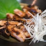 炭火焼き鳥 まかや - 料理写真:2018.6 ももの味噌焼(690円)