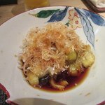 汐見 - 小鉢は「焼き茄子」