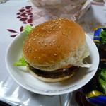 肉の郷 - 料理写真:ローヤルビッグバーガー、780円