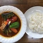 スープカレー カムイ - チキン野菜カレー940円