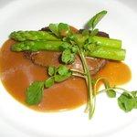 アイシン精機 ビレッジ高倉レストラン - 肉料理 牛ヒレステーキ