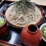 水車館 - ざる蕎麦650円