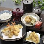 天ぷら つな八 - ランチ    上天ぷら定食