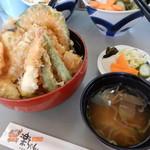 楽ちゃん - 天丼¥700