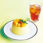 47 - マンゴーとオレンジのトロピカルベベシフォン