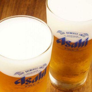グラスの洗浄方法にまでこだわった★生ビール★