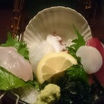 三代目網元 魚鮮水産 - 刺し盛り5点盛り