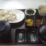 食事処 遊遊 - ハルピン出身の中国人が作る水餃子定食