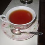 食事処 遊遊 - 食後の紅茶