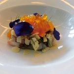 87097291 - 前菜:真蛸のアスピック シチリア風