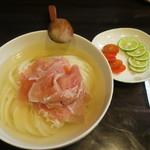 活麺富蔵 - ひやかけ(活麺富蔵流)