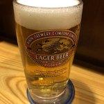 一刻屋 - 生ビール