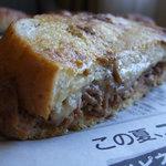 Boulangerie Kawamura - オムそばのクロックムッシュアップ