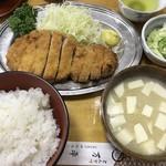 87100427 - ロースカツ定食 1700円