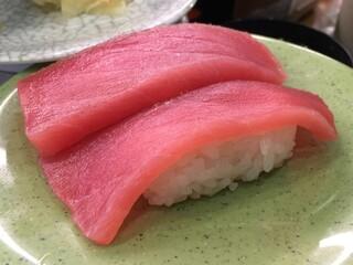 亀正くるくる寿司 - まぐろ
