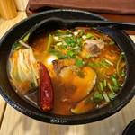 MOOGA - 麻辣米線 (辛さを指定しないと辛さ3で提供)
