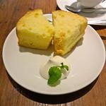 シャンズカフェ - シフォンケーキ