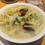 桶狭間タンメン - 野菜増し桶タン