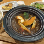 野菜屋ネロ チャコール グリル - タジン鍋のハンバーグランチ