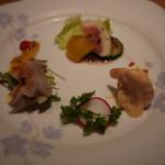 四季火鍋 花椒庭 - 三種盛り前菜