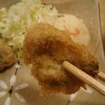 はまぐり食道 - 天ぷらの蛤